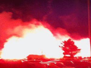 Alex için havaalanını yaktılar