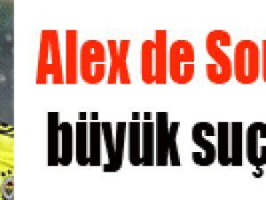 Alex de Souza'dan büyük suçlama