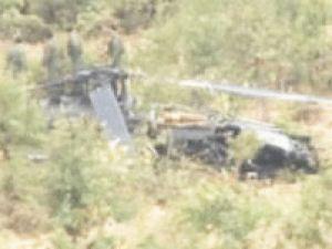 Diyarbakır'da askeri helikopter düştü!