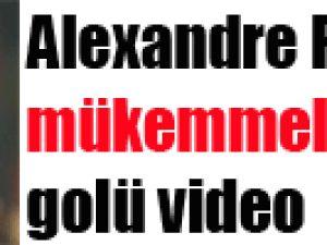 Alexandre Pato'dan mükemmel frikik golü video
