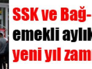 SSK ve Bağ-Kur emekli aylıklarına yeni yıl zammı