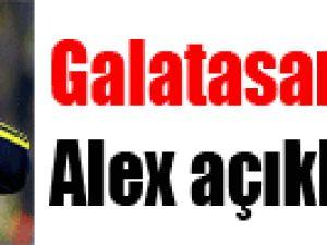 Galatasaray'dan Alex açıklaması
