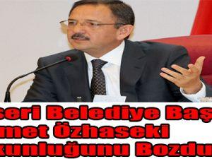 Kayseri Belediye Başkanı Mehmet Özhaseki Suskunluğunu Bozdu