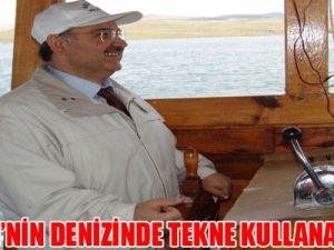 KAYSERİ'NİN DENİZİNDE TEKNE KULLANACAKLAR