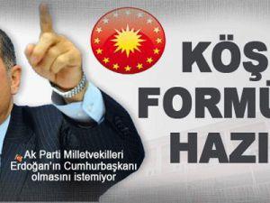 İşte AK Parti'nin Köşk Planı!