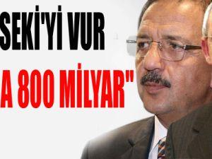 """""""ÖZHASEKİ'Yİ VUR SANA 800 MİLYAR"""""""