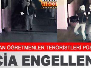 Diyarbakır'da Teröristin beline sarılıp bombaları aldı-video