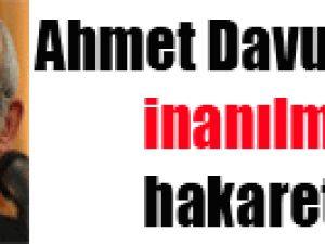 Ahmet Davutoğlu'na inanılmaz hakaret! video