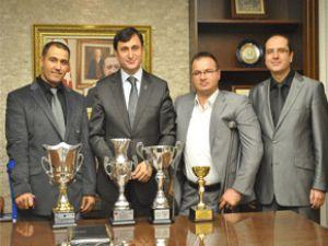 Bedensel Engelliler AK Parti İl Başkanı Dengiz'i ziyaret etti