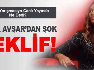 Hülya Avşar'dan Şok Teklif!