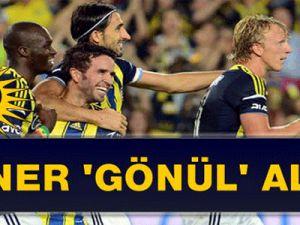 Fenerbahçe, Beşiktaş'ı 3-0'lık Skorla Yıktı!..Gökhan Gönül'den 2 Gol Birden!..