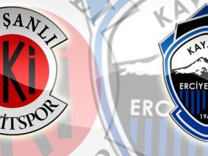 Kayseri Erciyesspor Tavşanlı Linyitspor'u 2-1 Yendi.