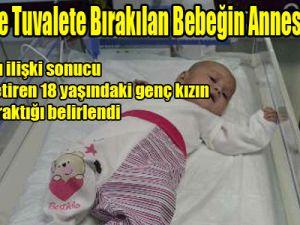Kayseri'de Tuvalete Bırakılan Bebeğin Annesi Bulundu