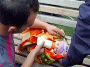 Tuvalete bırakılan bebeğin annesi bulundu