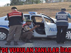 KAYSERİ'DE VURULAN ZANLILAR İFADE VERDİ