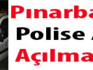 Pınarbaşı'da Polise Ateş Açılması