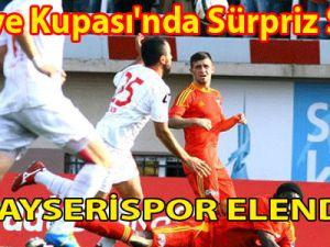 Türkiye Kupası'nda Sürpriz Sonuç Kayserispor Elendi