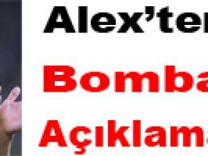 Aziz Yıldırım, Alex'in biletini 3 dakikada kesti