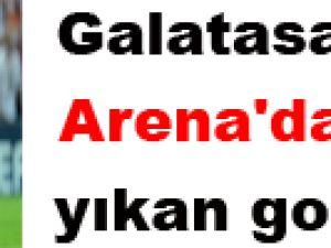Galatasaray'ı Arena'da yıkan goller!