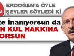 Kemal Kılıçdaroğlu'ndan Erdoğan'a Ağır Hakaretler.