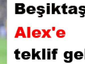 Beşiktaş'tan Alex'e teklif geldi