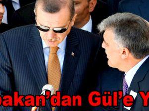 Başbakan'dan Gül'e yanıt!