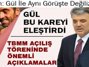 Abdullah Gül'den PKK-BDK Kucaklaşmasına Tepki