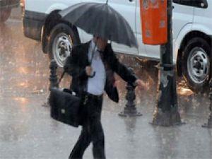 Meteoroloji'den şu illere kuvvetli yağış uyarısı