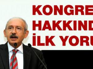 Kemal Kılıçdaroğlu'dan AK Parti'nin Kongresi'ne İlk Yorum