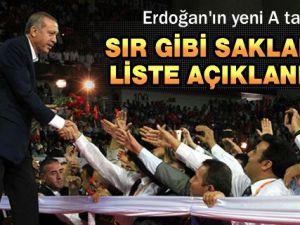 AK Parti'nin yeni A Takımı (Merkez Karar ve Yönetim Kurulu (MKYK) listesi)