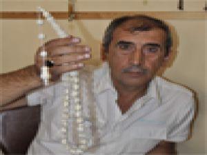 Kayseri'de 3 bin dolarlık  tesbih