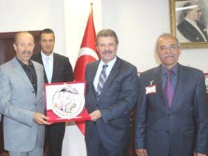 Dağcılar'dan Başkan Hüseyin Akay'a Ziyaret