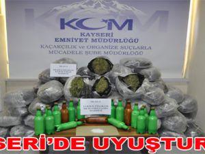 KAYSERİ'DE UYUŞTURUCU