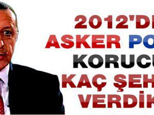 2012 Terör Bilançosu...Başkan Erdoğan'ın Ağzından....2012 Yılında Kaç Şehit Verdik?...
