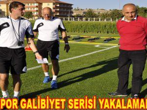 KAYSERİSPOR GALİBİYET SERİSİ YAKALAMAK İSTİYOR