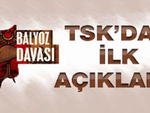 TSK'dan Balyoz Kararı Açıklaması