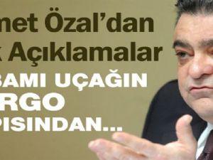 Ahmet Özal: 'Babamı uçağın kargo kapısından sarkıttılar!'