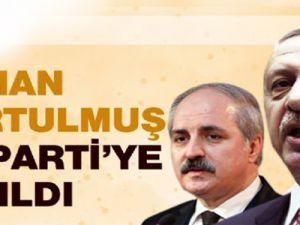 Numan Kurtulmuş AK Parti'ye Katıldı,