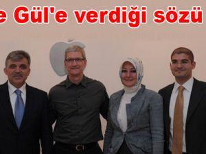 Apple, Gül'e verdiği sözü tuttu