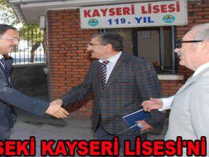 ÖZHASEKİ KAYSERİ LİSESİ'Nİ GEZDİ