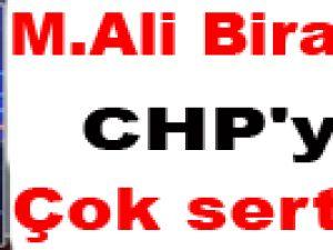 M.Ali Birand'tan CHP'ye çok sert tavır