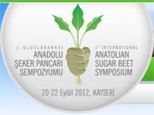 1.Uluslararası Anadolu Şeker Pancarı Sempozyumu