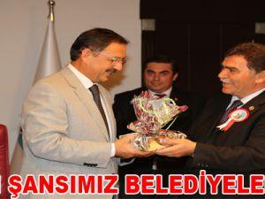 """""""BİZİM ŞANSIMIZ BELEDİYELERİMİZ"""""""