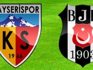 Kayserispor - Beşiktaş Maç Bilet Fiyatlarını açıkladı