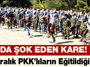 İşte Suriye sınırında kiralık PKK'lıların eğitildiği kamp