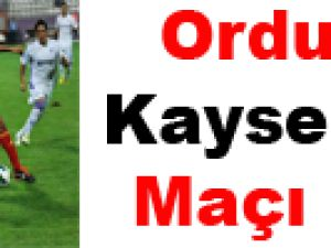 Orduspor Kayserispor maç özeti / Video