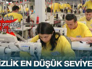 Haziran ayında işsizlik erimeye devam ediyor