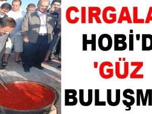 CIRGALAN HOBİ'DE 'GÜZ BULUŞMASI'