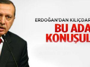 Erdoğan: Bu adamla bir şey konuşulmaz