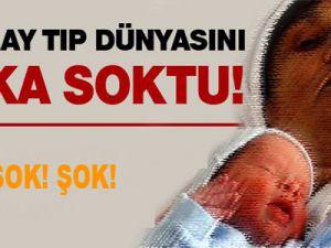 64'lük kadın tüp bebek yöntemiyle çocuk sahibi oldu